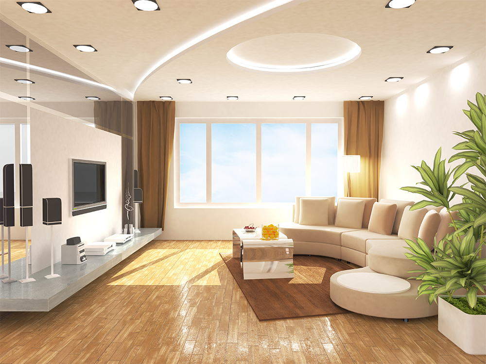 Automated lighting solution at home by Delfin
