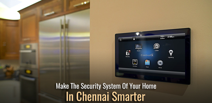 Display of Control features of Automated Security System