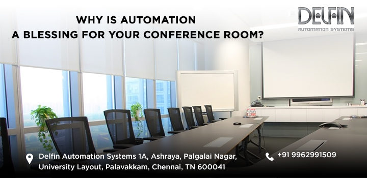 Why Is Automation A Blessing For Your Conference Room?